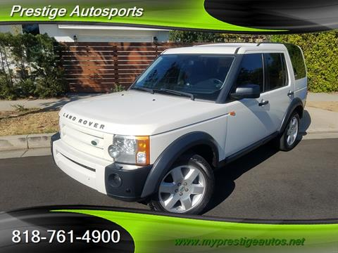 2008 Land Rover LR3 for sale in North Hollywood, CA