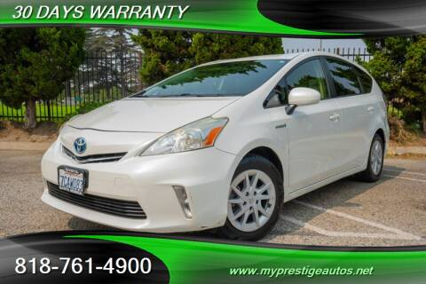 2013 Toyota Prius v for sale at Prestige Auto Sports Inc in North Hollywood CA