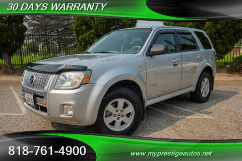 2008 Mercury Mariner for sale at Prestige Auto Sports Inc in North Hollywood CA