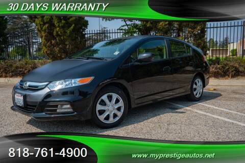 2012 Honda Insight for sale at Prestige Auto Sports Inc in North Hollywood CA