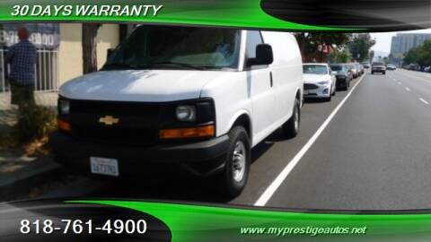 2012 Chevrolet Express Cargo for sale at Prestige Auto Sports Inc in North Hollywood CA
