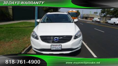 2015 Volvo XC60 for sale at Prestige Auto Sports Inc in North Hollywood CA