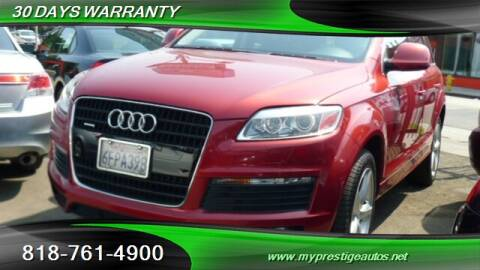 2008 Audi Q7 for sale at Prestige Auto Sports Inc in North Hollywood CA