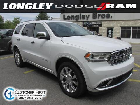 2018 Dodge Durango for sale in Fulton, NY