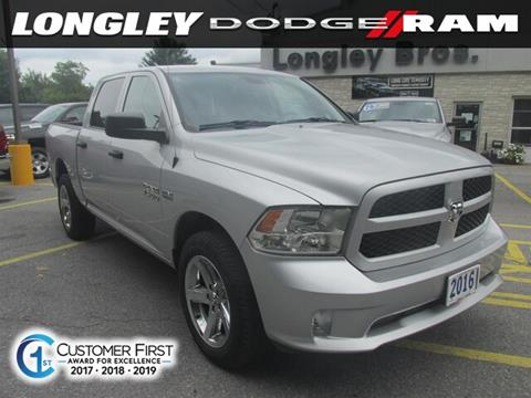 2016 RAM Ram Pickup 1500 for sale in Fulton, NY