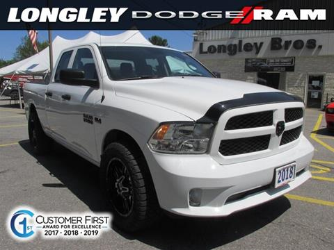 2018 RAM Ram Pickup 1500 for sale in Fulton, NY