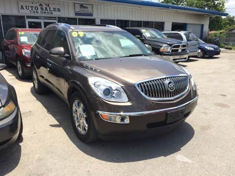 2009 Buick Enclave for sale at H & H AUTO SALES - 4022 BLANCO RD Lot in San Antonio TX