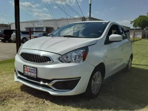 2017 Mitsubishi Mirage for sale at Auto Plaza in Irving TX