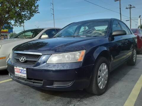 2008 Hyundai Sonata for sale at Auto Plaza in Irving TX
