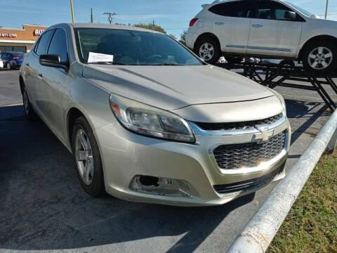 2015 Chevrolet Malibu for sale at Auto Plaza in Irving TX