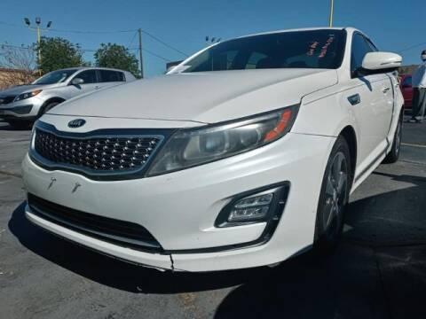 2014 Kia Optima Hybrid for sale at Auto Plaza in Irving TX