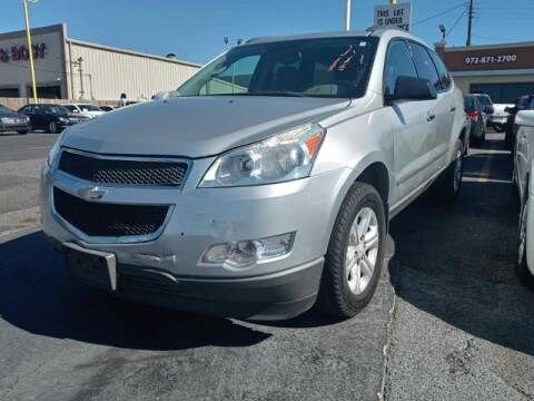 2010 Chevrolet Traverse for sale at Auto Plaza in Irving TX