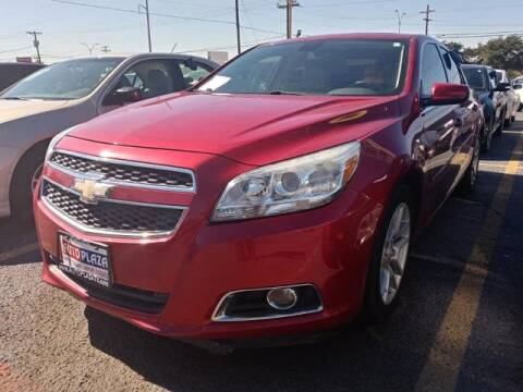 2013 Chevrolet Malibu for sale at Auto Plaza in Irving TX