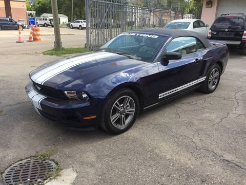 2011 Ford Mustang for sale in Detroit, MI