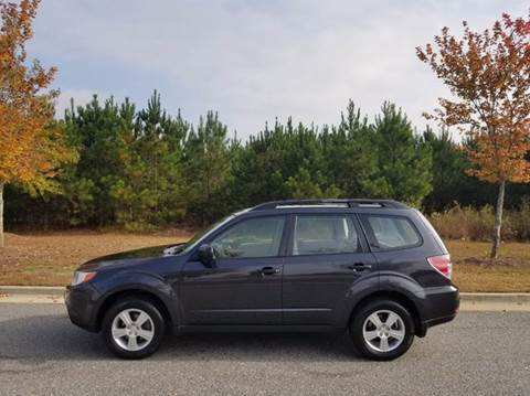 2012 Subaru Forester for sale at CorpAuto in Cleveland GA