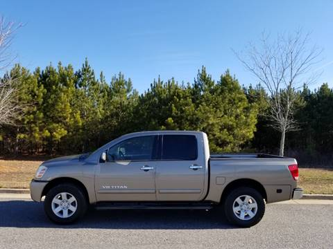 2006 Nissan Titan for sale at CorpAuto in Cleveland GA