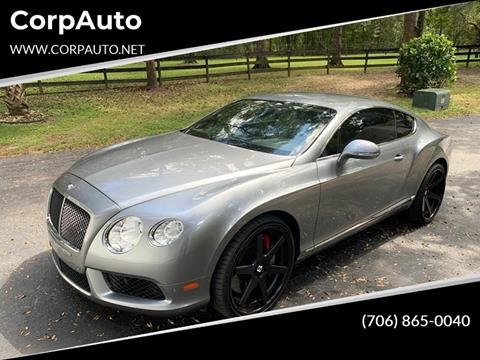2013 Bentley Continental for sale in Cleveland, GA