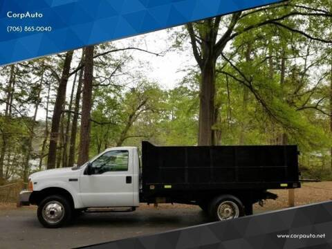 2000 Ford F-550 Super Duty for sale at CorpAuto in Cleveland GA