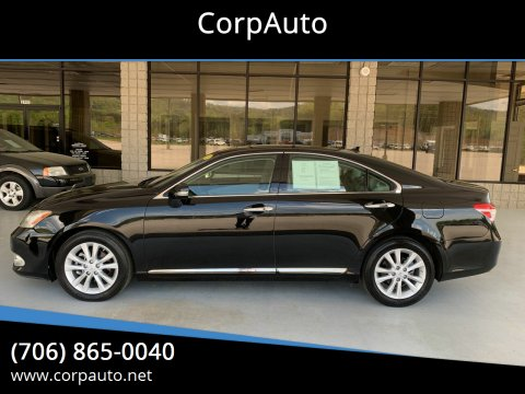 2011 Lexus ES 350 for sale at CorpAuto in Cleveland GA