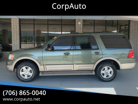 2004 Ford Expedition for sale at CorpAuto in Cleveland GA