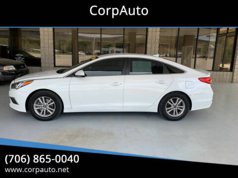 2017 Hyundai Sonata for sale at CorpAuto in Cleveland GA