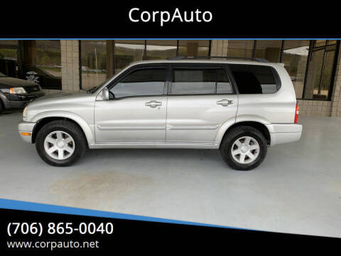 2001 Suzuki XL7 for sale at CorpAuto in Cleveland GA