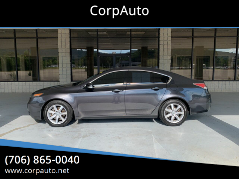 2012 Acura TL for sale at CorpAuto in Cleveland GA
