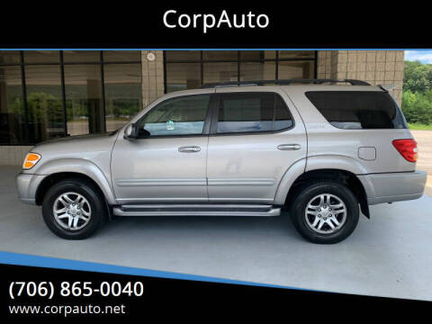 2004 Toyota Sequoia for sale at CorpAuto in Cleveland GA