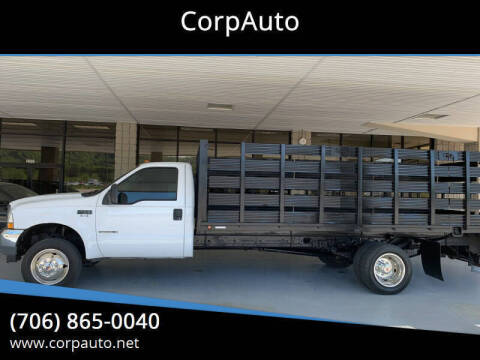 2002 Ford F-450 Super Duty for sale at CorpAuto in Cleveland GA