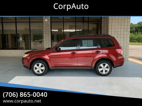 2011 Subaru Forester for sale at CorpAuto in Cleveland GA