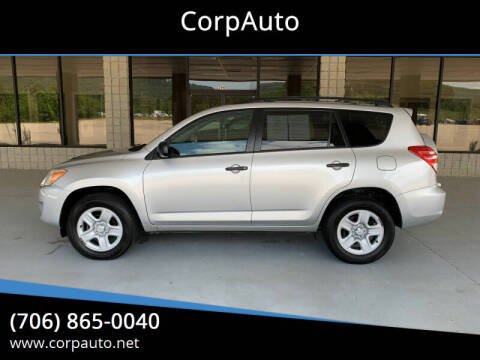 2012 Toyota RAV4 for sale at CorpAuto in Cleveland GA