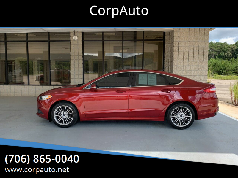 2013 Ford Fusion for sale at CorpAuto in Cleveland GA