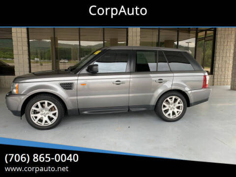 2008 Land Rover Range Rover Sport for sale at CorpAuto in Cleveland GA