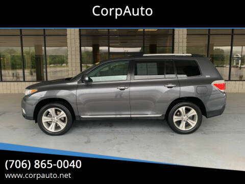 2012 Toyota Highlander for sale at CorpAuto in Cleveland GA