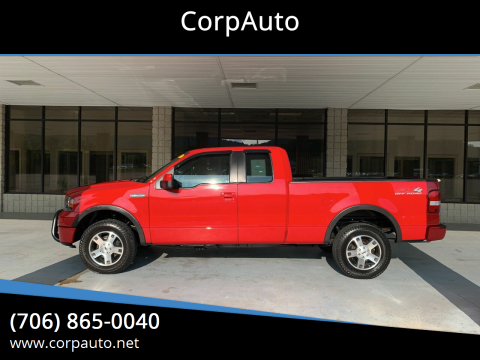 2007 Ford F-150 for sale at CorpAuto in Cleveland GA