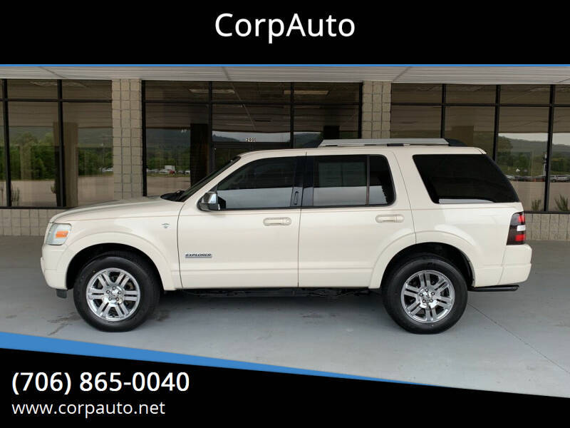 2008 Ford Explorer for sale at CorpAuto in Cleveland GA