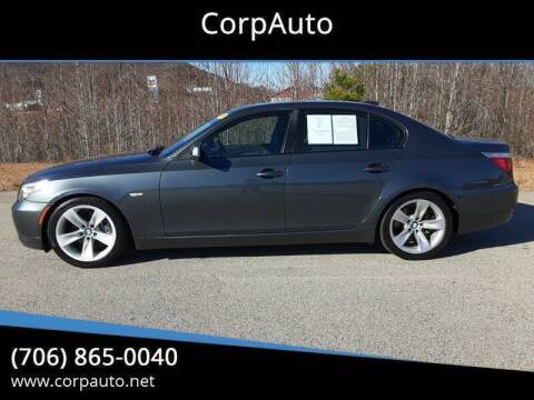 2009 BMW 5 Series for sale at CorpAuto in Cleveland GA