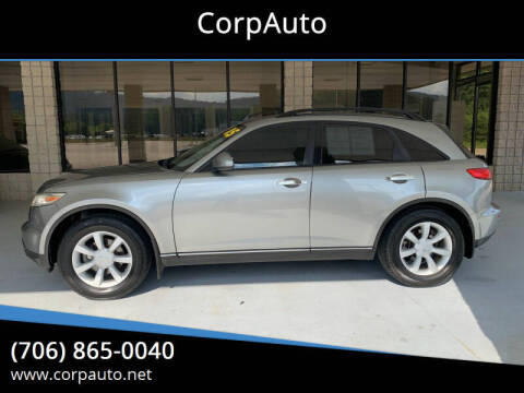 2005 Infiniti FX35 for sale at CorpAuto in Cleveland GA