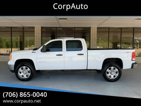 2012 GMC Sierra 2500HD for sale at CorpAuto in Cleveland GA