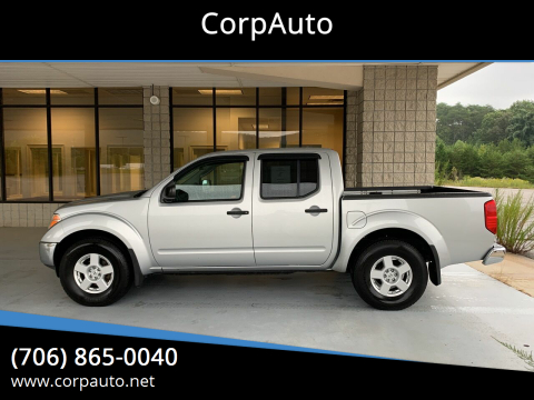 2007 Nissan Frontier for sale at CorpAuto in Cleveland GA