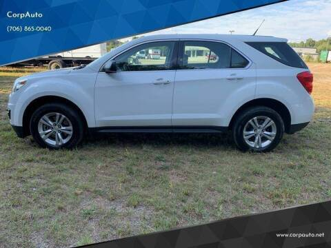 2013 Chevrolet Equinox for sale at CorpAuto in Cleveland GA
