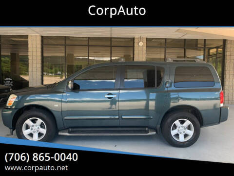 2005 Nissan Armada for sale at CorpAuto in Cleveland GA