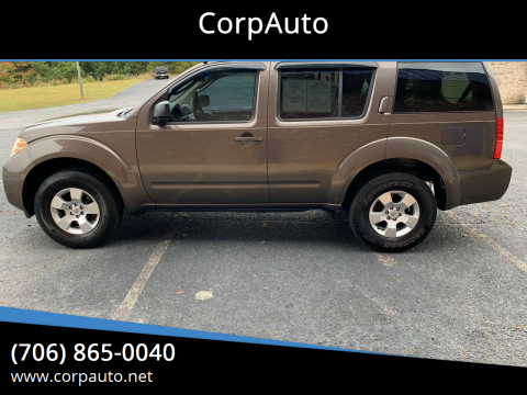 2008 Nissan Pathfinder for sale at CorpAuto in Cleveland GA
