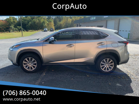2015 Lexus NX 200t for sale at CorpAuto in Cleveland GA