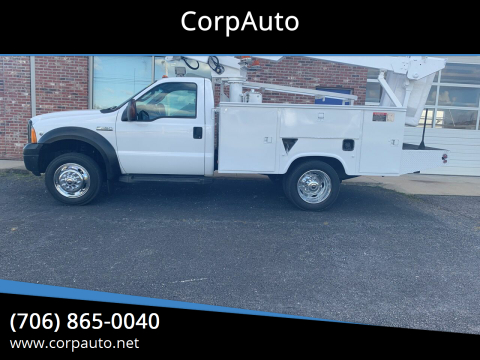 2006 Ford F-450 Super Duty for sale at CorpAuto in Cleveland GA