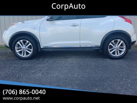 2013 Nissan JUKE for sale at CorpAuto in Cleveland GA