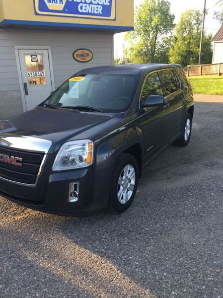 2011 GMC Terrain for sale at Hines Auto Sales in Marlette MI