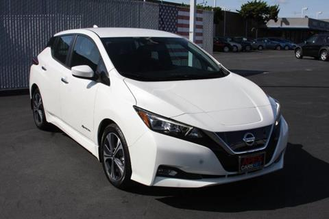 2018 Nissan LEAF for sale in Fremont, CA