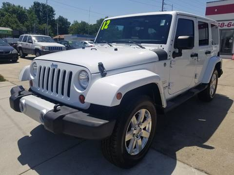 2012 Jeep Wrangler Unlimited for sale in Olathe, KS