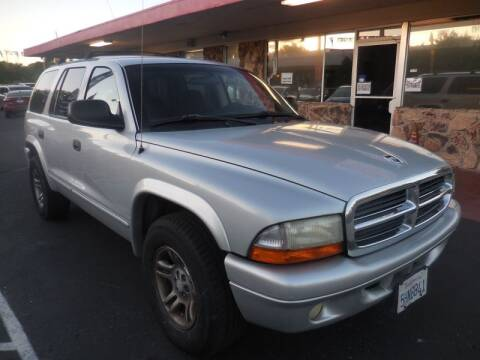 2002 Dodge Durango for sale at Auto 4 Less in Fremont CA